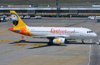 5H-FJD @ FAJS - Fastjet A319 arriving in JNB - by FerryPNL