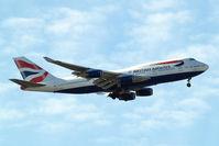 G-CIVG @ EGLL - Boeing 747-436 [25813] (British Airways) Home~G 13/05/2015. On approach 27L.