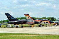 43 70 @ EDDB - BAe/Panavia Tornado IDS [GS043] (German Air Force) Berlin-Schonefeld~D 14/05/2004. Seen here with 45+30 both in special schemes.