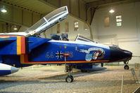 44 56 @ EDBG - 44+56   BAe/Panavia Tornado IDS [GS113] (Ex German Air Force) Berlin-Gatow~D 15/05/2004. Showing closeup of nose artwork.