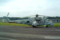 96 43 @ EDBG - 96+43   Mil Mi-24P Hind [340333] (Ex German Air Force) Berlin-Gatow~D 15/05/2004