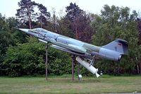 20 02 @ EDBG - Lockheed F-104G ZELL Starfighter [583F-5920] (Ex German Air Force) Berlin-Gatow~D 15/05/2004. Wears former marks of DB+127.