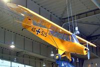 96 20 @ EDBG - Piper L-18C-95 Super Cub [18-3443] (Ex German Air Force) Berlin-Gatow~D 15/05/2004. Marked AS+525 earlier military marks.