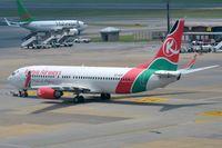 5Y-KYF @ FAJS - Kenya B738 pushed back. - by FerryPNL
