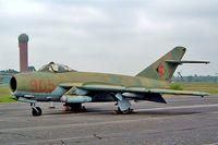 905 @ EDBG - Mikoyan-Gurevich Lim-5 [1C-08-20] (Ex East German Air Force) Berlin-Gatow~D 15/05/2004 - by Ray Barber