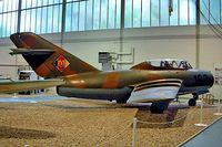 163 @ EDBG - Mikoyan-Gurevich MiG-15UTI (CS-102) [922257] (Ex East German Air Force) Berlin-Gatow~D 15/05/2004 - by Ray Barber