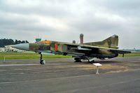 20 02 @ EDBG - Mikoyan-Gurevich MiG-23MF [0390213299] (Ex German Air Force) Berlin-Gatow~D 15/05/2004