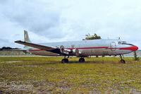 N614CA @ KFLL - Douglas DC-6C-118A [44625] (Ex Florida Air Transport) Fort Lauderdale-Hollywood International~N 22/10/1998 - by Ray Barber
