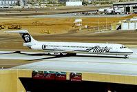 N969AS @ KPHX - McDonnell Douglas DC-9-83 [53063] (Alaska Airlines) Phoenix-Sky Harbor International~N 18/10/1998 - by Ray Barber