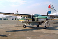 5H-PAI @ FAGM - Cessna 208B Grand Caravan [208B-0400] (Precisionair) Johannesburg-Rand~ZS 07/10/2003 - by Ray Barber