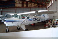 ZS-CJC @ FAPY - Piper PA-22-150 Tri-Pacer [22-5838] Parys~ZS 10/10/2003