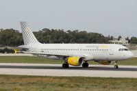 EC-JGM @ LMML - A320 EC-JGM Vueling - by Raymond Zammit