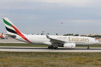 A6-EAF @ LMML - A330 A6-EAF Emirates Airlines - by Raymond Zammit
