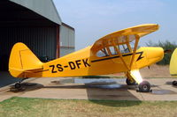 ZS-DFK @ FAKR - Piper PA-20 Pacer [20-753] Krugersdorp~ZS 11/10/2003