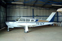 ZS-ICY @ FAKR - Piper PA-28R-200 Cherokee Arrow [28R-35209] Krugersdorp~ZS 11/10/2003