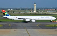 ZS-SNE - A346 - South African Airways