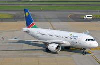 V5-ANN @ FAJS - Air Namibia A319 arriving - by FerryPNL