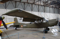 75 @ LFBY - Nord 3400 Norbarbe observation aircraft of the French Army light aviation service in the ALAT museum in Dax, France - by Van Propeller