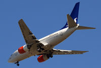 LN-RRY @ EGLL - Boeing 737-683 [28297] (SAS Scandinavian Airlines) Home~G 08/06/2014. On approach 27R.