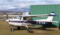 G-BTDW @ EGEO - Well tied-down waiting for the next gale! - by Jonathan Allen