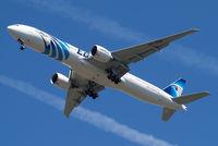 SU-GDN @ EGLL - Boeing 777-36NER [38288] (EgyptAir) Home~G 23/05/2011. On approach 27R.