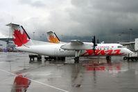 C-GVON @ CYUL - De Havilland Canada DHC-8-301 Dash 8 [149] (Air Canada Jazz) Montreal-Dorval~C 17/06/2005 - by Ray Barber