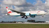 OE-LPC @ MIA - Austrian 777-200