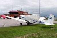 C-GZBN @ CYND - Cessna A.188B Agwagon [188-00849] Gatineau~C 18/06/2005 - by Ray Barber