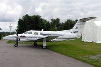 C-GZRP @ CYRP - Piper PA-42-720 Cheyenne IIIA [42-5501011] Ottawa-Carp~C 19/06/2005 - by Ray Barber