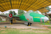 BF597 - On display at the HAL Heritage Centre and Aerospace Museum, Bangalore.  The original paint scheme has been wrecked by the poor repaint job. - by Arjun Sarup