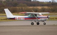 G-BSTO @ EGFH - Visiting 152. - by Roger Winser