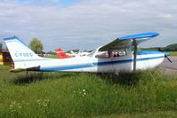 C-FQEG @ CYRO - Cessna 172K Skyhawk [172-58572] Rockcliffe~C 19/06/2005 - by Ray Barber