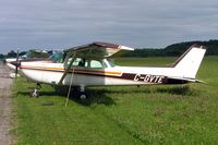 C-GVTE @ CYRO - Cessna 172L Skyhawk [172-60039] Rockcliffe~C 19/06/2005 - by Ray Barber