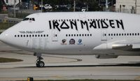 TF-AAK @ FLL - Iron Maiden Book of Souls tour