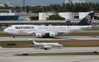 TF-AAK @ FLL - Iron Maiden Book of Souls Ed Force One