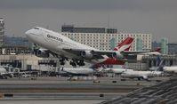 VH-OJS @ LAX - Qantas