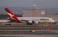 VH-OQL @ LAX - Qantas