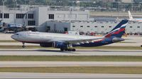 VQ-BBE @ MIA - Aeroflot - by Florida Metal