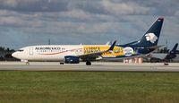 XA-AMC @ MIA - Aeromexico Corona