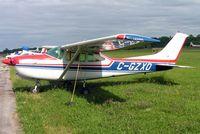 C-GZXO @ CYRO - Cessna R.182 Skylane RG [R182-00363] Rockcliffe~C 19/06/2005 - by Ray Barber