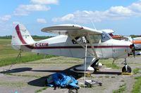 C-GXJM @ CPU6 - Piper PA-22-150 Tri Pacer [22-4475] Tyendinaga-Mohawk~C 20/06/2005 - by Ray Barber