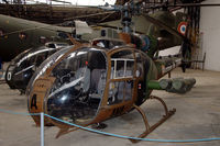 3904 @ LFBY - Aerospatiale SA342M Gazelle helicopter of the French Army light aviation service in the ALAT museum at Dax, southern France - by Van Propeller
