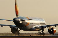 D-AICL @ EDDP - On taxi to departure on rwy 26R.... - by Holger Zengler
