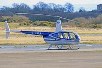 G-HVER @ EGFH - Raven II, Denham based, seen parked up. - by Derek Flewin
