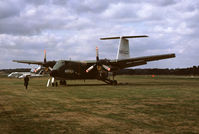 C-GBUF @ EGLF - De Havilland Canada DHC-5 Buffalo at the 1976 Farnborough Airsow - by Franco Sella