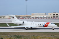 102 @ LMML - Gulfstream V 102 United States Coast Guards - by Raymond Zammit