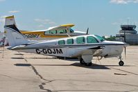 C-GOJM @ CYTZ - Beech A36 Bonanza 36 [E-1723] Toronto-City Centre Airport~C 22/06/2005 - by Ray Barber