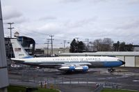 58-6970 @ KBFI - VC137B 58-6970 is the 1st presidential jet and is known as SAM 970. She is on loan to the Museum of Flight in Seattle, WA at KBFI from the National Museum of the US Air Force. - by Eric Olsen