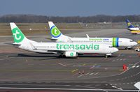 PH-HSW @ EHEH - Transavia in old and new c/s - by FerryPNL