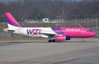 HA-LWO @ EHEH - Wizz taxying in after landing in EIN. - by FerryPNL